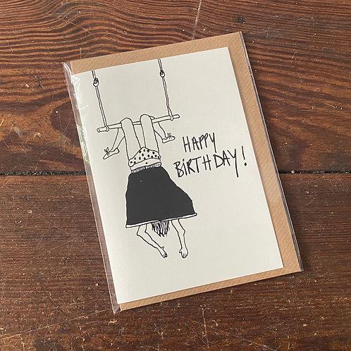 """Card """"Happy Birthday Pipi"""""""