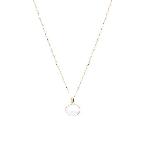 Moonstonelover Necklace Gold