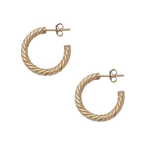 Vintage Earrings Gold