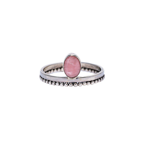 Rhodochrosite Ring