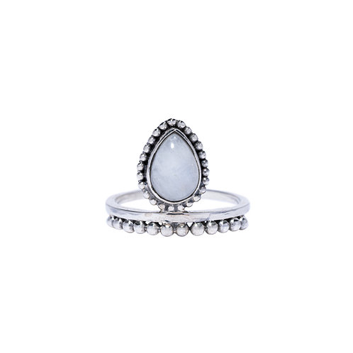 Princess with Moonstone Ring