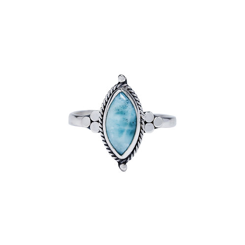 Blue Yulia Ring