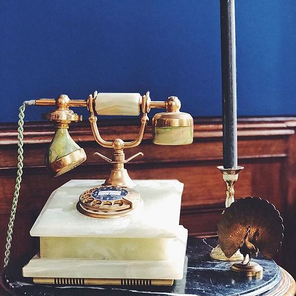 Unser tolles neues Telefon - gestern bei