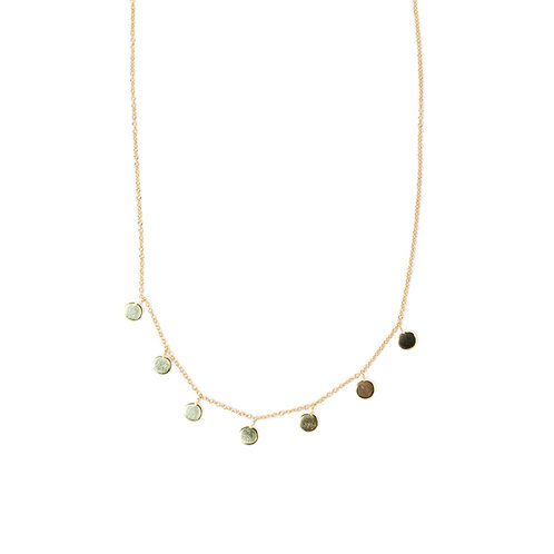 Hipster Necklace Gelbgold
