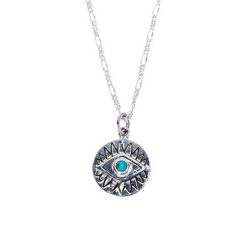 Eye Turquoise Necklace