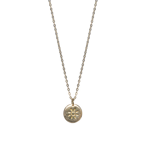 Little Sun Necklace Gold