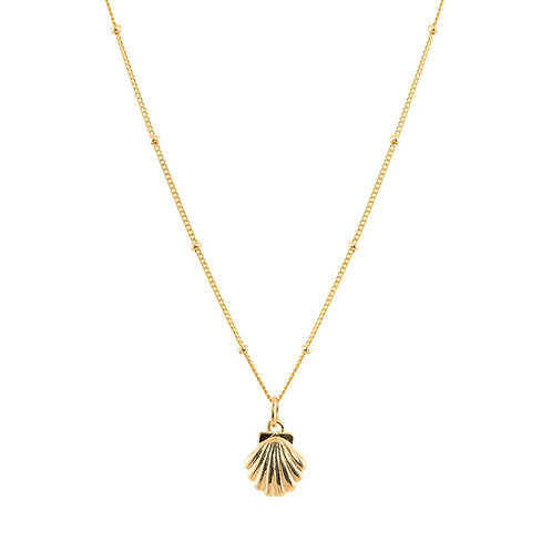 Little Shell Necklace Gold