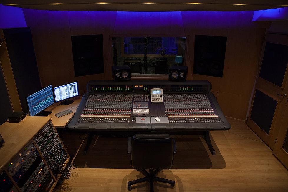 Tonstudio in Wien-RPM Sound Studio-Control Room