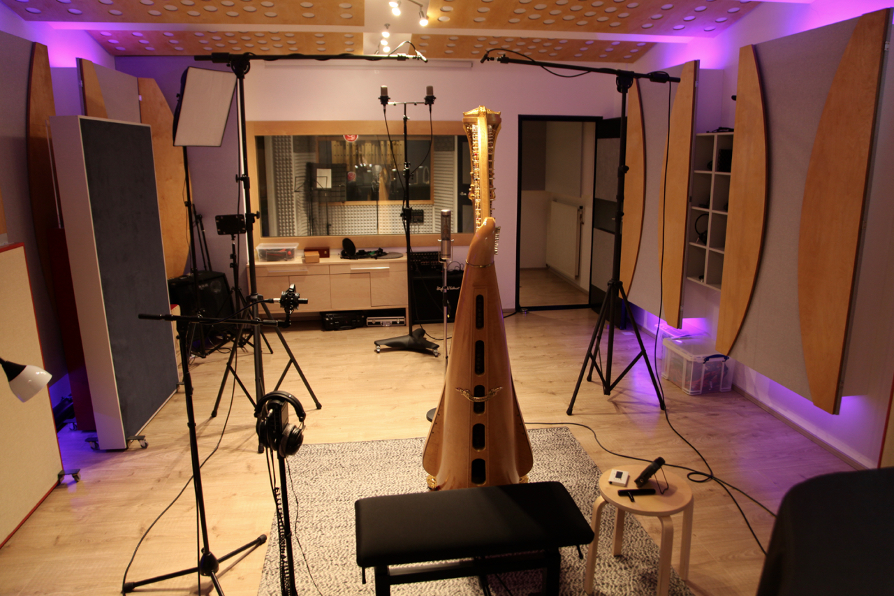 RPM Studio - Harp recording