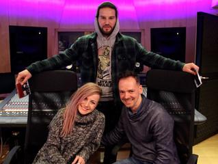 Poli Genova (Bulgaria) recording for the 2016 Eurovision Song Contest in Stockholm in the RPMSTUDIO