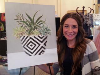 Local Artist, Tanielle W. Johnson