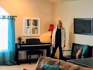 An Interior Redesign Party! Natalie's Bonus Room