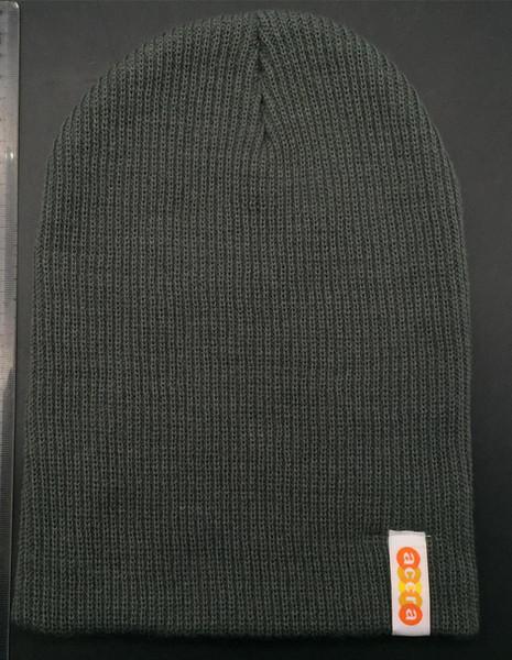 Custom Woven Label Knit Beanie