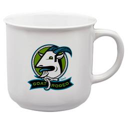 Goat Rodeo Ceramic Camp Mug