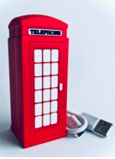 Replica UK Red Phone Booth - Front
