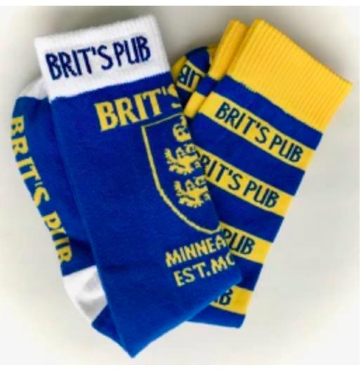 Brit's Pub Custom Dress Socks
