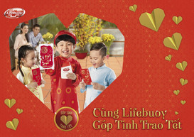 Unilever Vietnam   Góp Tình Trao Tết - Lifebuoy
