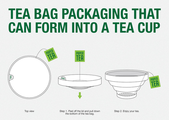 [Concept] | On The Go Tea Bag
