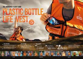 Nutifood   Plastic Bottle Life Vest