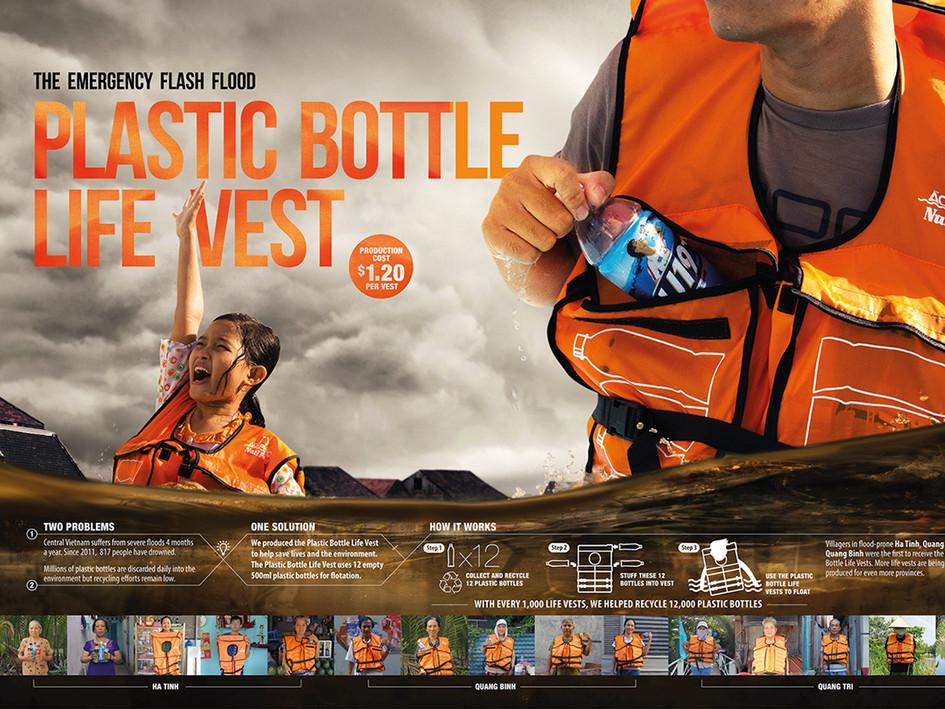 Nutifood | Plastic Bottle Life Vest