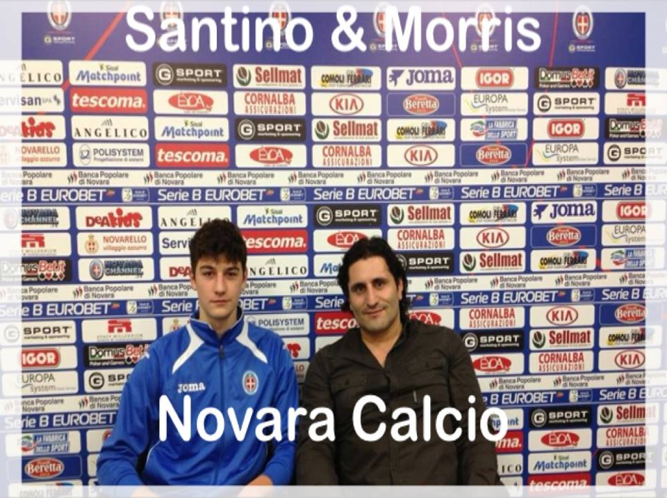 2013 RECINE WITH NOVARA CALCIO
