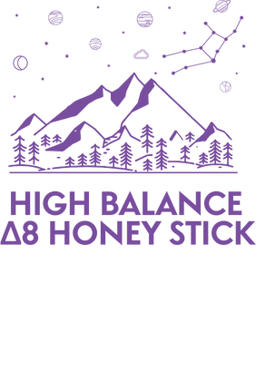 HIGH BALANCE Δ8 Infused Honey Sticks