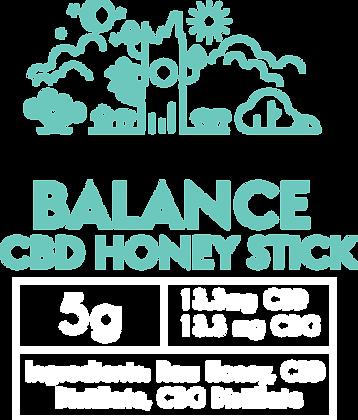 BALANCE CBD Infused Honey Sticks