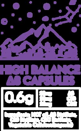HIGH BALANCE Δ8 Capsules