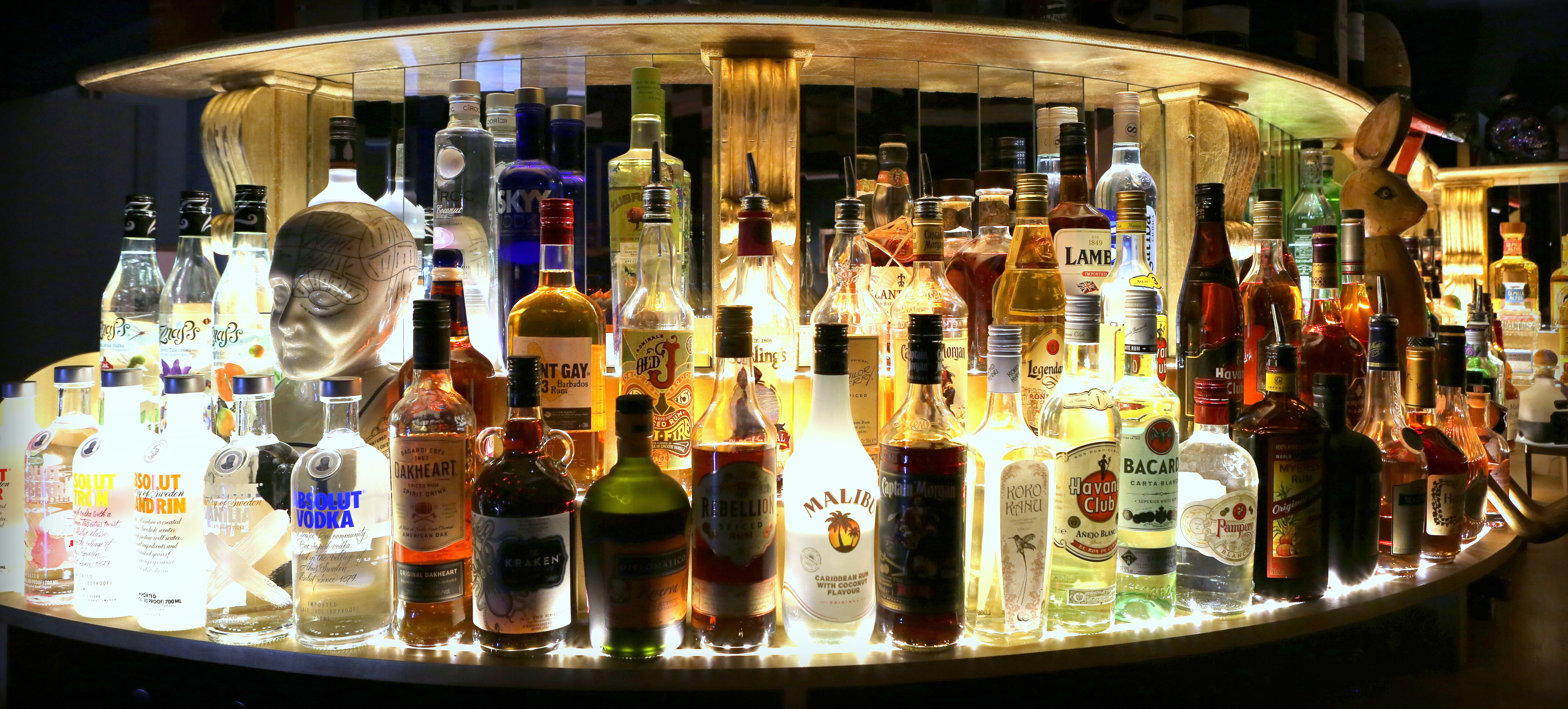 Small selection from the back bar