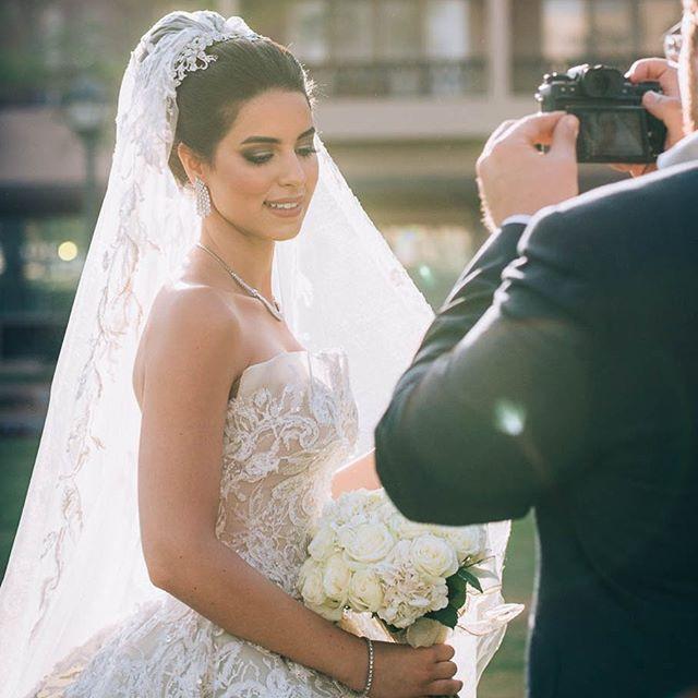 Perfect shot! Magical bride 💫 _dina_ela