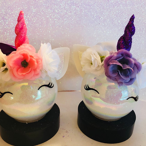 Custom Unicorn Ornaments