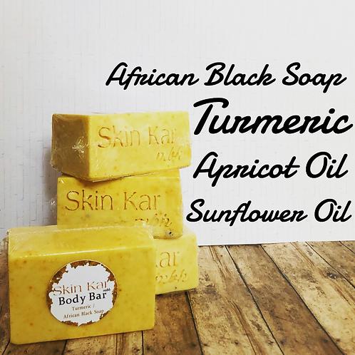 Turmeric/African Black Body Bar