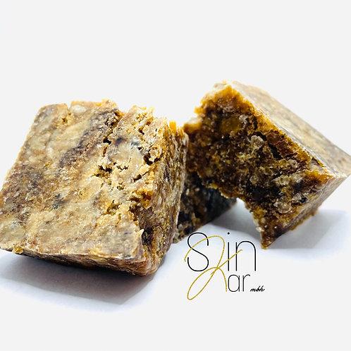 Raw 100% African Black Soap Body Bar (travel size)