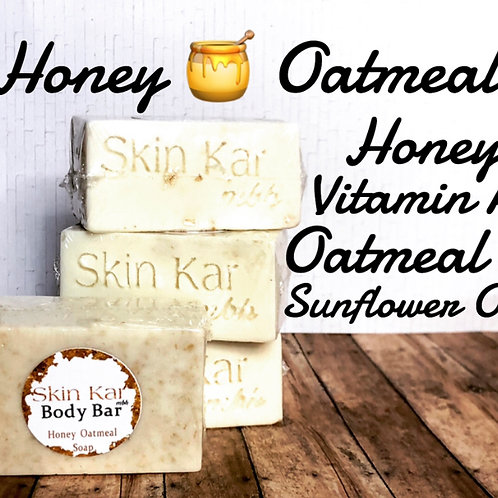 Honey Oatmeal Body Bar