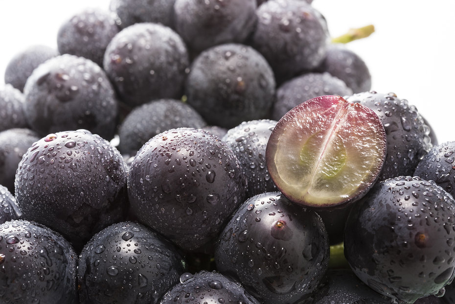 Kyoho grapes is one of the grape varieti
