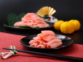 ネットショップ用 柚子巻き大根の撮影(商品送り)