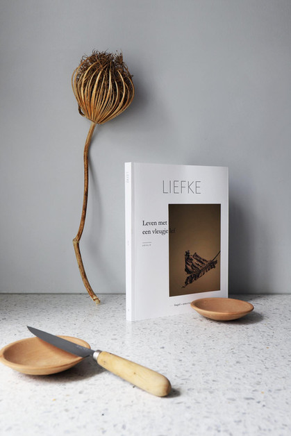 Social media content for Liefke Magazine