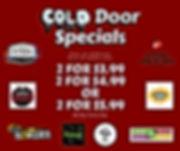 Cold door specials
