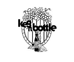 Keg-N-Bottle retro logo