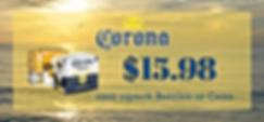 Corona sale flyer