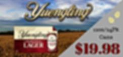 Yuengling beer sale flyer