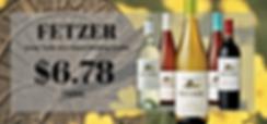 Fetzer Wine sale flyer