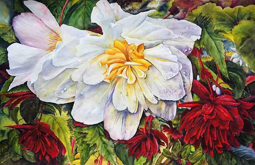 Fleurs de jardinières