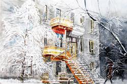 Balcons à Montréal