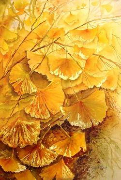 Arbre aux feuilles d'or