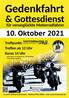 Motortreff am Flugfeld mit Gedenkfahrt und Gottesdienst am 10.10.2021