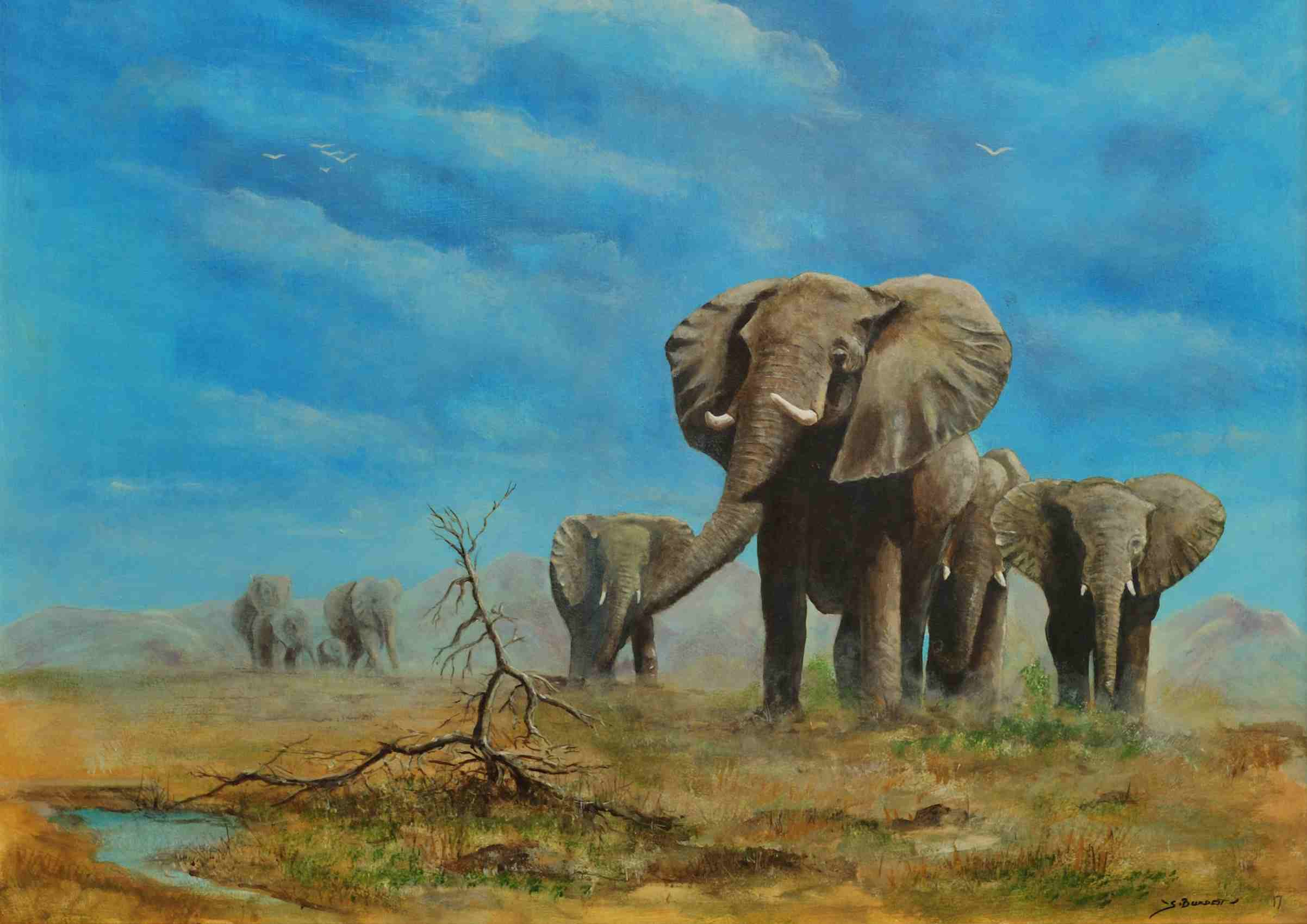 GIANTS OF THE SAVANNA