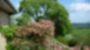 honeysuckle balcony Shallowdale House