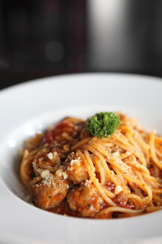 Fresh pasta- always a hit