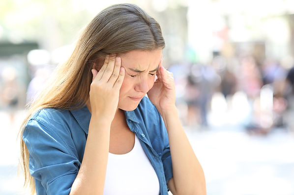Headaches and diziness are symptoms of neck pain